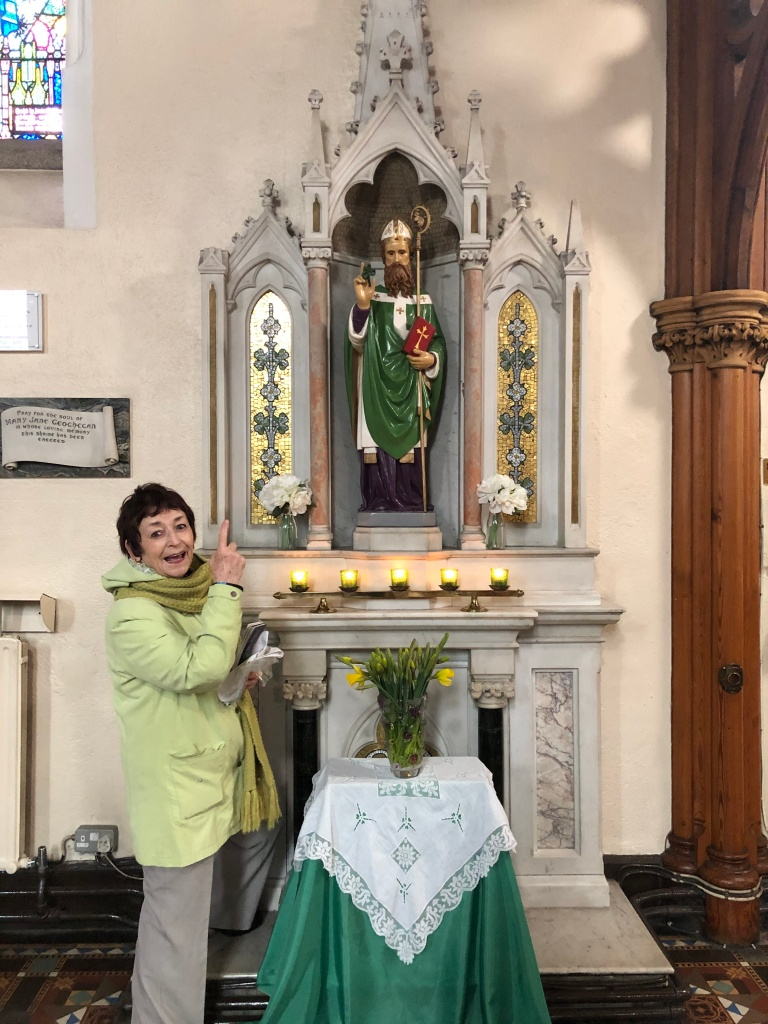 St. Patrick's day alter photo